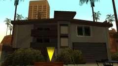 La casa modificada en la playa de Santa Maria 2.0 para GTA San Andreas