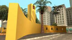 El nuevo Parque Central de Los Santos
