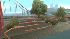 New Drift Track SF para GTA San Andreas