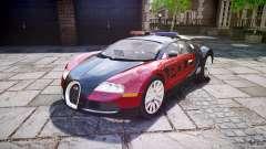 Bugatti Veyron 16.4 Police [EPM/ELS] para GTA 4