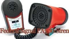 Sirena federal PA300