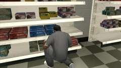 New Ammunation para GTA San Andreas