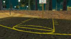 New basketball court para GTA San Andreas