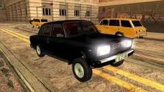 VAZ 2107 ZZ estilo para GTA San Andreas