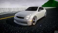 Infiniti G35 Coupe 2003 JDM Tune para GTA 4