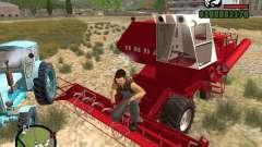 Cosechadora Niva SK-5 para GTA San Andreas