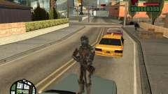 El traje de los juegos de Dead Space 2 para GTA San Andreas