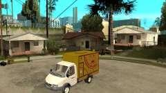 Parrilla de Gaz-3302 gacela para GTA San Andreas
