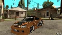 Nissan Skyline GTR - EMzone B-day Car para GTA San Andreas