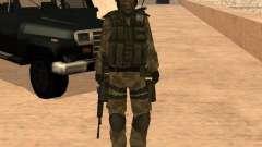 Ranger Army Skin Mod para GTA San Andreas