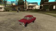 Moskvich 412 Rojo para GTA San Andreas