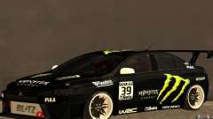 Mitsubishi Lancer Evolution X Monster Energy para GTA San Andreas