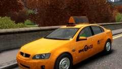 Holden NYC Taxi para GTA 4