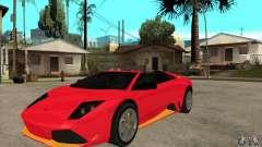 Lamborghini Murcielago LP650 para GTA San Andreas