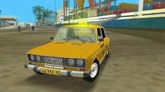 2106 VAZ Taxi v 2.0 para GTA Vice City