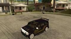 H2 HUMMER DUB LOWRIDE para GTA San Andreas