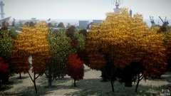 Realistic trees 1.2 para GTA 4