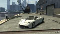 Blanco Pagani huayr para GTA 4