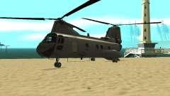 Helicóptero Leviathan para GTA San Andreas