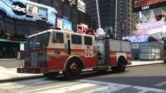 Fire Truck FDNY para GTA 4