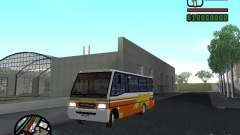 Ciferal Agilis M.Benz LO-814 BY GTABUSCL para GTA San Andreas