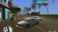 Peugeot 406 Taxi para GTA Vice City