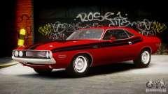 Dodge Challenger R/T Hemi 1970 v2.5 para GTA 4