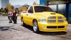Dodge Ram SRT-10 2003 1.0 para GTA 4
