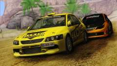 Mitsubishi Lancer Evolution IX Rally para GTA San Andreas