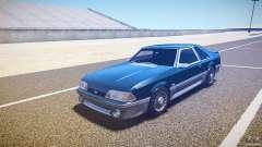 Ford Mustang GT 1993 Rims 1 para GTA 4