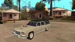Cadillac Fleetwood 1985 Hearse Tuned para GTA San Andreas