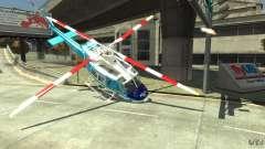 NYPD Bell 412 EP para GTA 4