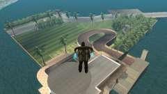 Mansión de la isla para GTA San Andreas