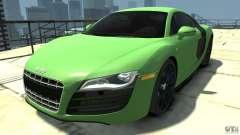 Audi R8 5.2 FSI quattro v1 para GTA 4