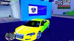 Volga Siber 2.5 AT Restailing para GTA San Andreas