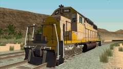 Clinchfield SD40 (Yellow & Grey)