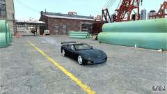 Chevrolet Corvette C6 Convertible v1.0 para GTA 4