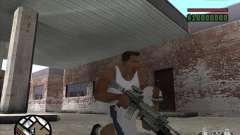 M4 de l. a. t. s. k. e. r. (a) para GTA San Andreas