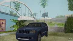 Jeep Grand Cherokee SRT8 2009 para GTA San Andreas
