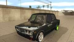 2106 VAZ Lada deriva sintonizado para GTA San Andreas