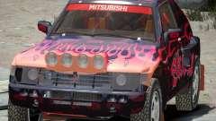Mitsubishi Pajero Proto Dakar EK86 vinilo 4 para GTA 4