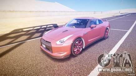 Nissan GT-R R35 2010 para GTA 4