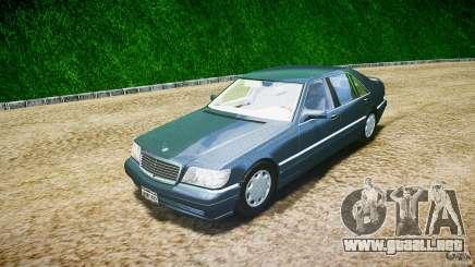 Mercedes Benz SL600 W140 1998 higher Performance para GTA 4