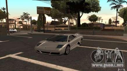 Infernus de GTA 4 para GTA San Andreas