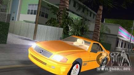 Mercedes-Benz SL600 1999 para GTA Vice City