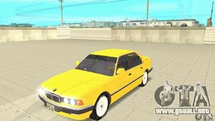 BMW 750I E32 para GTA San Andreas