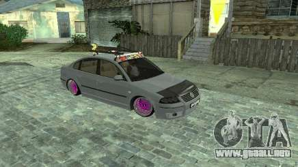 VW Passat B5+ Dope para GTA San Andreas