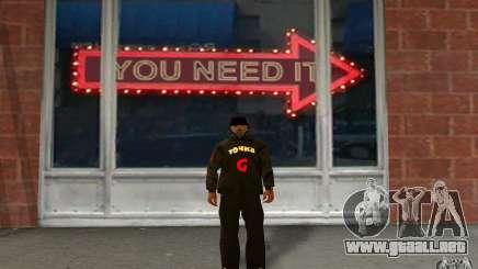 Chaqueta de punto (G) para GTA San Andreas