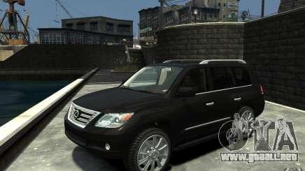 Lexus LX 570 v1.0 para GTA 4