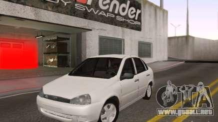 LADA Kalina sedán para GTA San Andreas